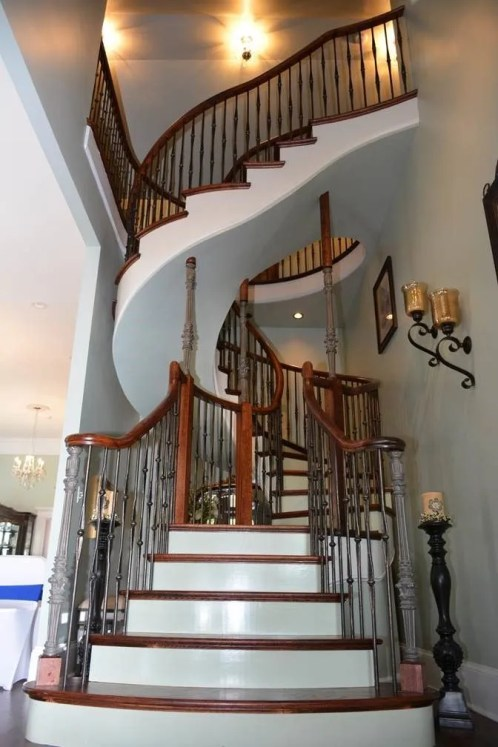Dingler Custom Curved Staircase 2